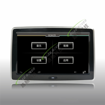 Hot sell 10.1 inch HD digital screen android 4.4 system car rear seat entertainment system for Ford Escape