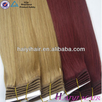 100% Remy Hair with Factory Wholesale Price/European Deep Wave Human Hair Extension