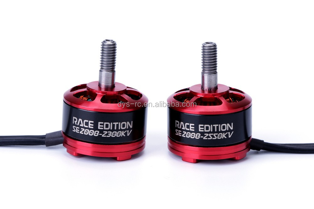 DYS FPV Special Edition racer brushless motor SE2008-2550KV with 3-5s for multirotor/ Quadcopter FPV 180/210/220