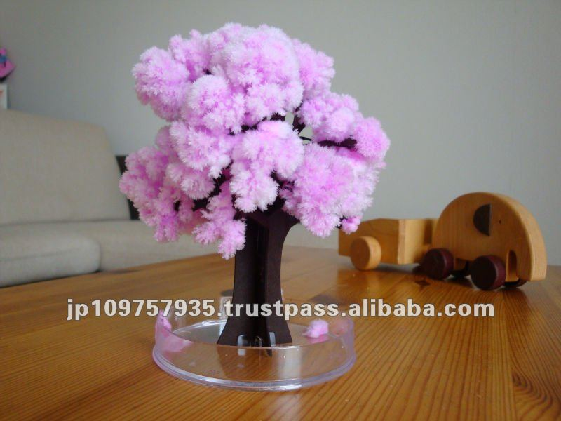 Magic toy artificial Paper Flower