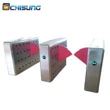 Smart Speed Pedestrian Control Flap Barrier Gate For Subway Entrance