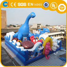 New designl Ocean World theme amusement park,commercial inflatable fun city for sale,giant inflatable funcity