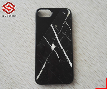 Thin Real Natural Marble Stone Mobile Phone Case for Iphone Cell Phone
