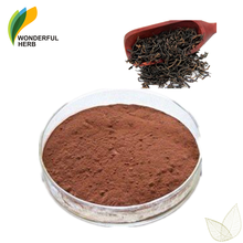 Best price wholesale Theaflavin extract organic instant black tea powder