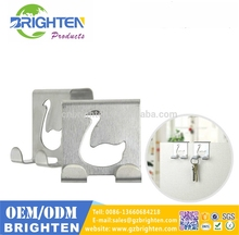unique duck stainless steel hanging hook for kitchen towel