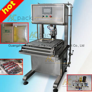 Automatic Bag In Box filling machine for packing fruit juice