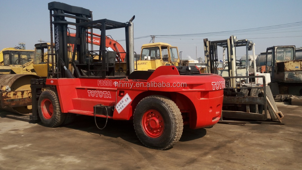 TOYOTA JAPAN 20ton used forklift Low price of direct selling