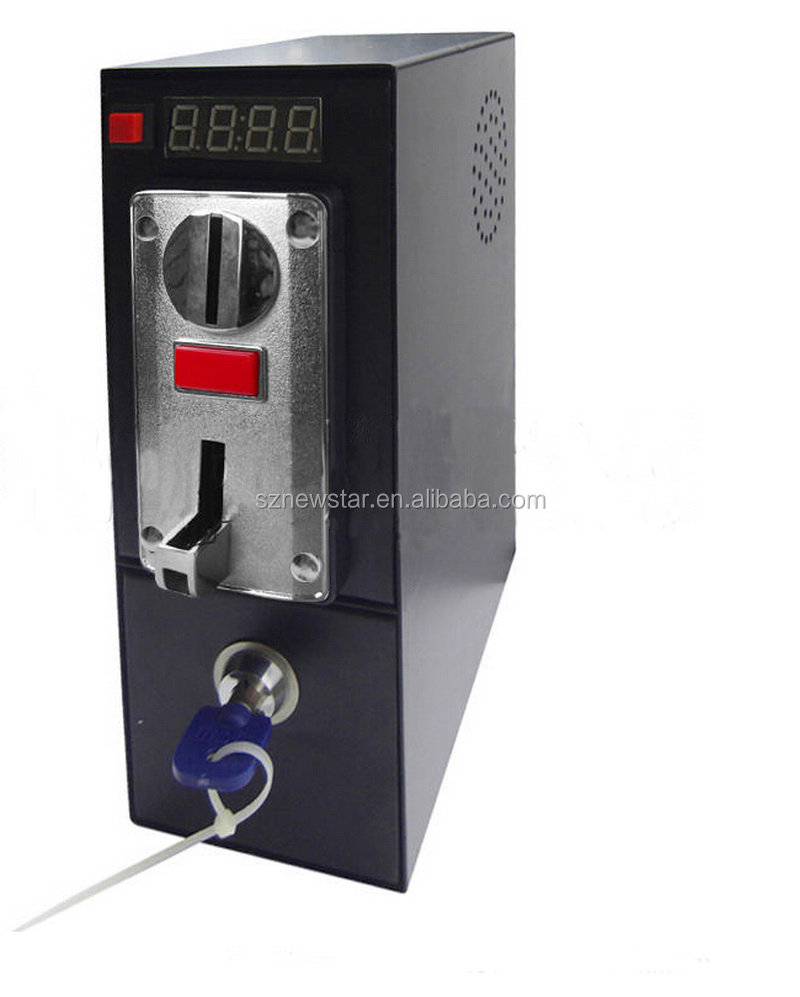 Coin Operated Timer Control Board Device with Intelligent CPU Multi Coin Acceptor for Cafe Kiosk, Washing machines, Vending
