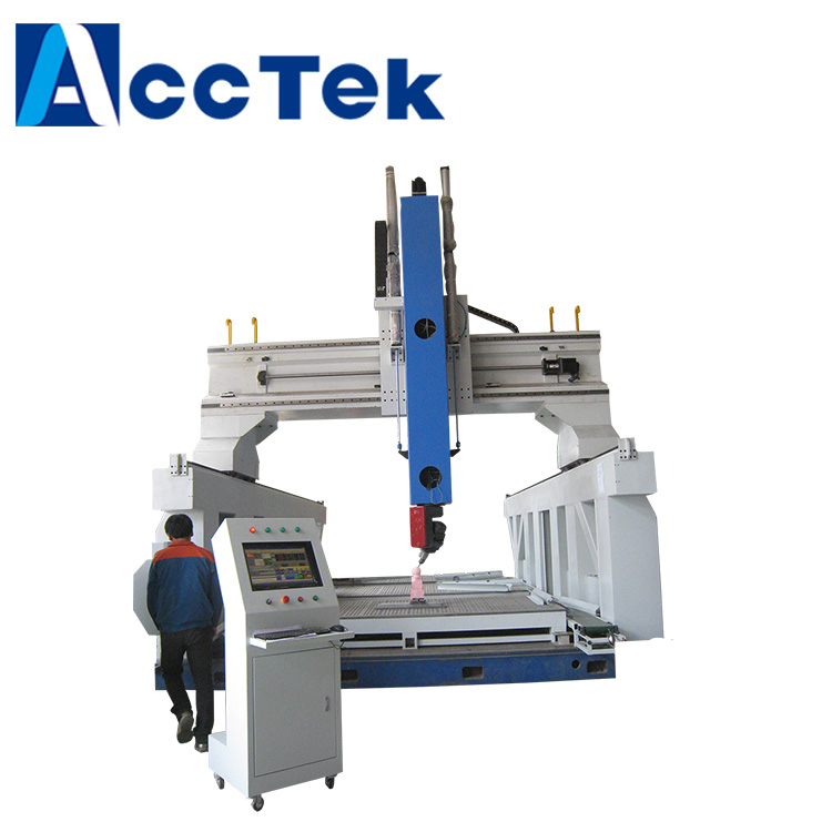 NEW designed fast speed high Z axis cnc lathe machine 5-axis /cnc machine AKM1325 5axis