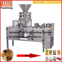 Automatic cashew Almond Nuts packing machine for premade bag