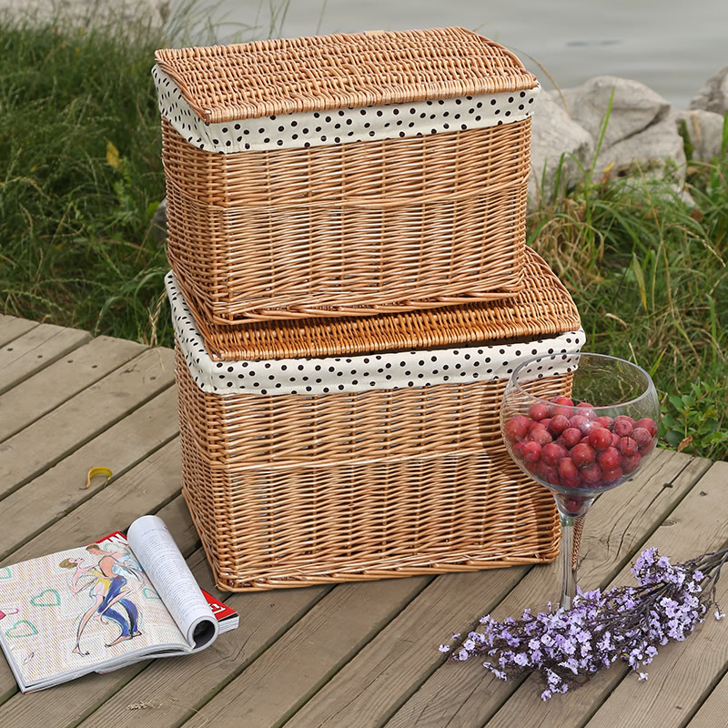 storage basket with lid handle plastic wooden laundry basket basket storage