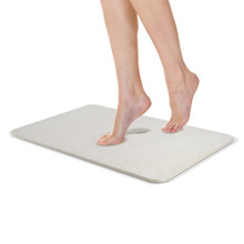 Diatomaceous Earth Bath Mat Natural Antibacterial Anti-Slip Bathroom Mat