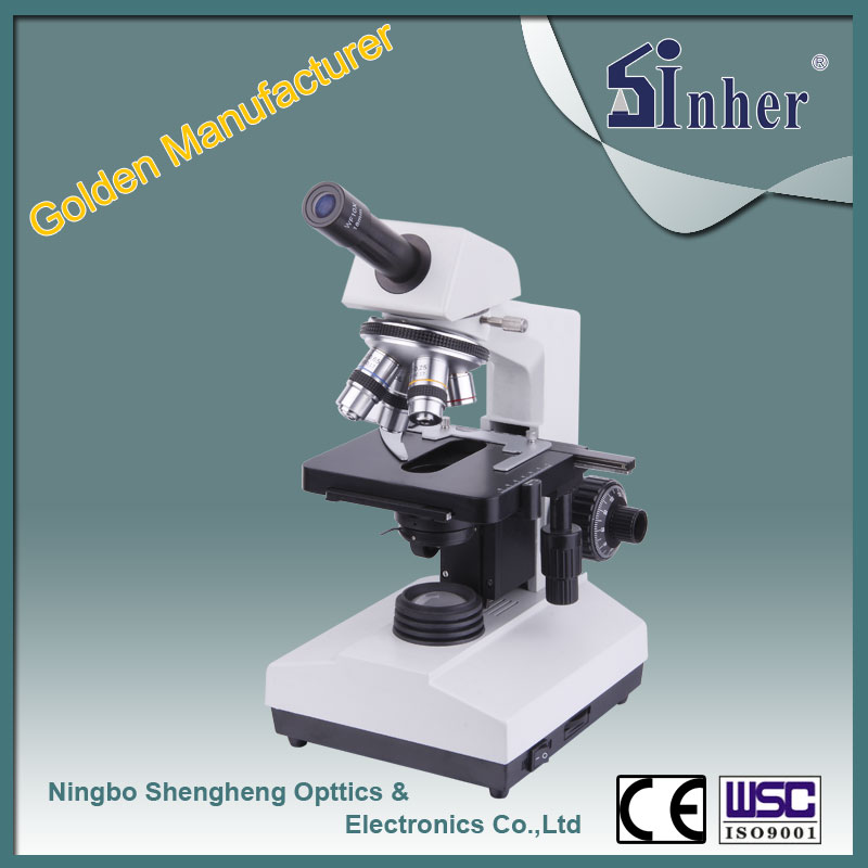 107BN Factory offer Biological Monocular electronic microscope
