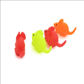 custom plastic mouse cat toy