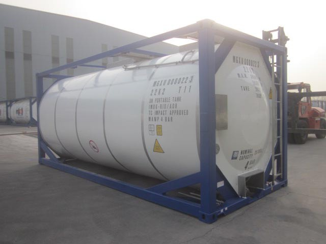 LR,BV,CCS certificate 20ft LPG ISO Tank Container