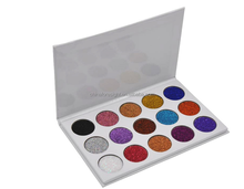 Hot selling OEM Eye shadow Glitter eyeshadow with eyeshadow palette