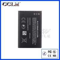 low price mobile phone battery for nokia bl-5c 3.7v 1020mah li-ion battery