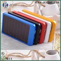 Manufactory wholesale solar power bank 2600mah battery charger slim power bank
