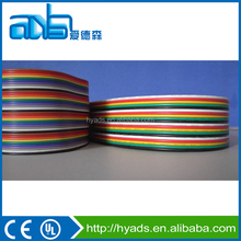 UL 2468 7 pins multi-cores flex flat ribbon connecting wire