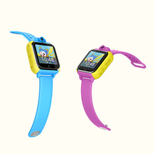 wifi kids gps smart watch with tracker watch NANO SIM card 3G kids phone watch
