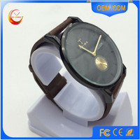 Classic simple style minimal face lady men Watch