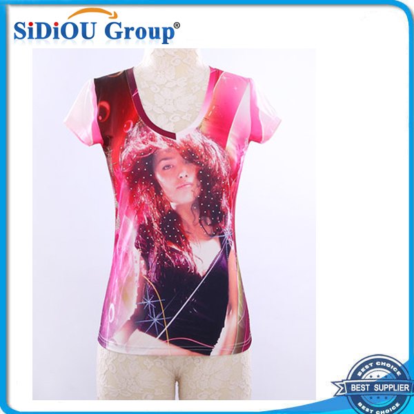 Full Dye Sublimation T Shirt Printing Machine View Dye