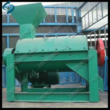 fertilizer crusher machine for crushing animal manure,city waste