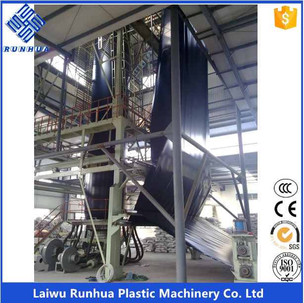 HDPE 8m fish farm pond liners geomembrane production <strong>line</strong>