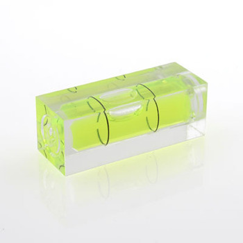 Plastic Square Rectangle Spirit Level Bubble