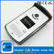 ATZ eBELL New Product Wireless Motion Detection Door Camera Remote Door Release Waterproof IP 66 Smart 3G Video Doorbell