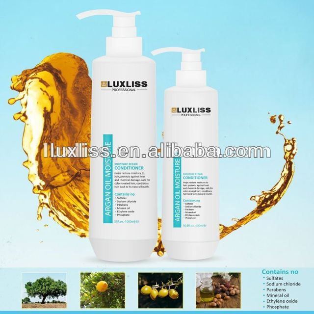 Professional energy Argan oil hair relaxer cream shampoo