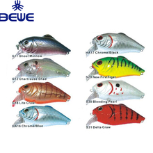 Custom Animated Cha-Cha Hard Plastic Fishing Crankbait Lure
