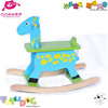 2015 newest wooden baby educational rocking horse toy