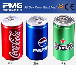 PMG-4T350Q 36-6 2-in-1 small soft drink can filling machine