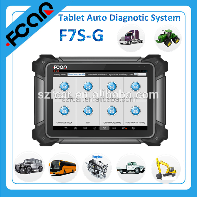 Fcar F7S android tablet diagnostic tool for all vehicle better than gscan2