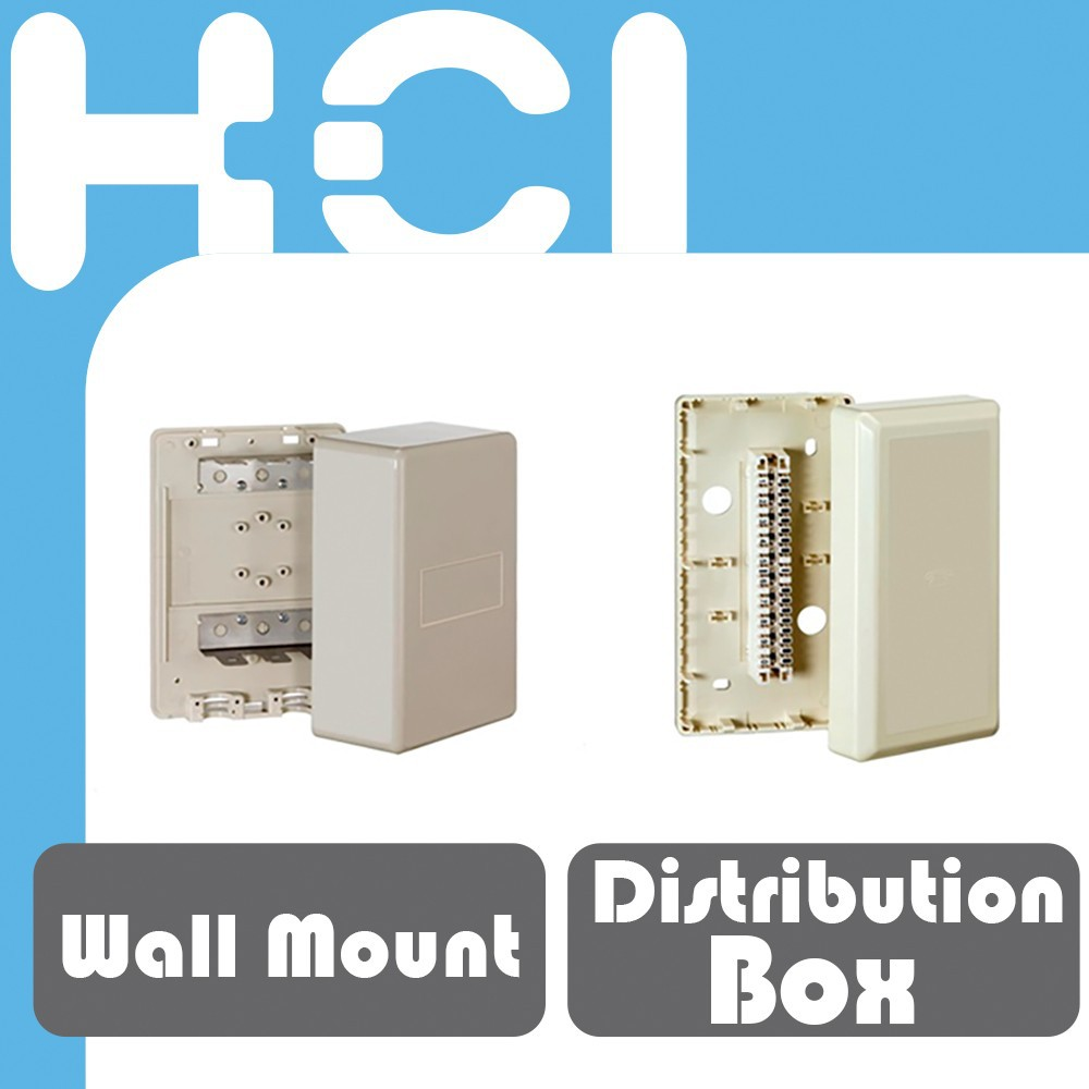 Cable Wall Mount Mini Distribution Box for telephone