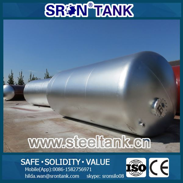 Safety & Solid Stainless Steel Water 500 Gallon Tank Assured 15 Years Lifespan