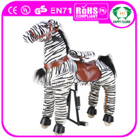 HI CE 2014 hot sale high quality fashion chrisha playful plush rocking horse