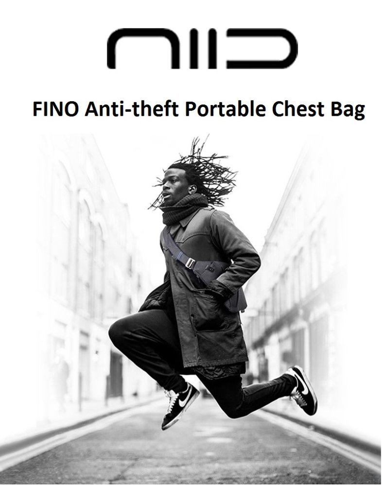 NIID FINO Personal Fashion Anti-theft Portable Chest Bag