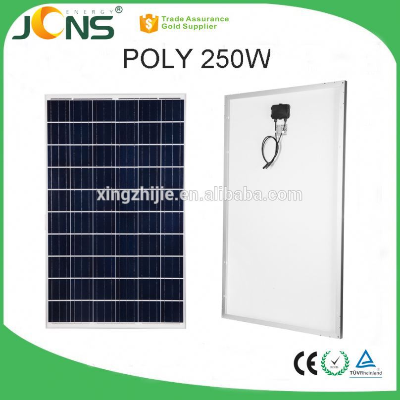 poly crystalline solar cell imported solar cell ldk solar panel with junction box
