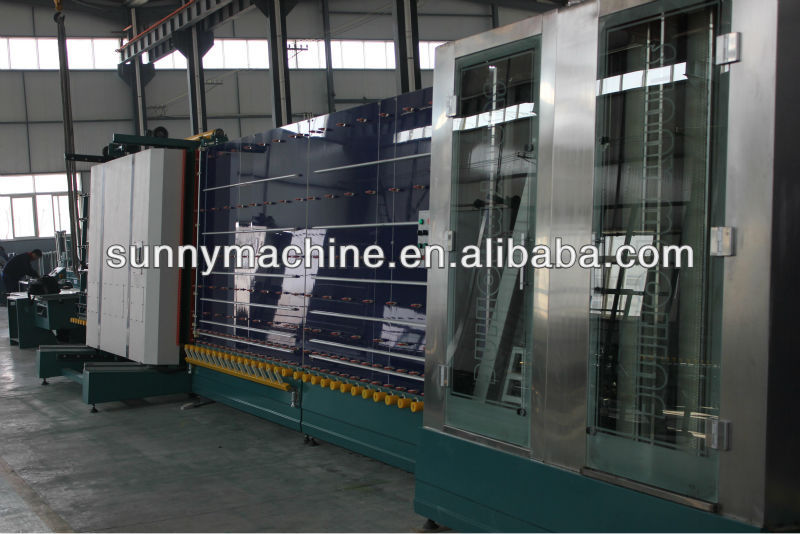 Double Glazing Production Line Manufacturer,Water recycle glass washing machine