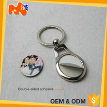 Novelty Products For Sublimation Gift Ideas Premium Custom Metal Keyring