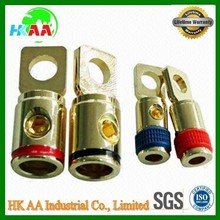 Cable ring terminals, Battery Cable Terminals with gold or nickel plated