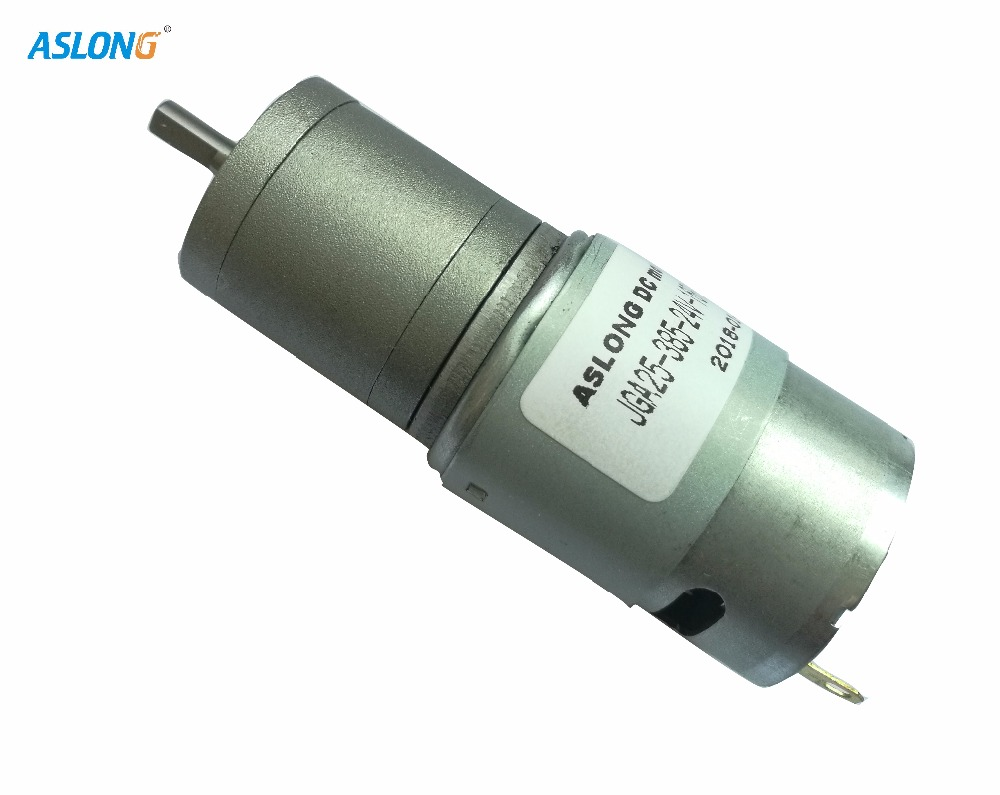 JGA 25-385 12V High Torque Low Speed Reducer Dc Motor With Metal Gear Box