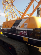 japan Kobelco 7055 crawler crane used crane 55t