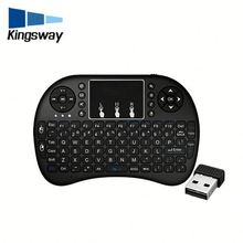 Low price handheld bluetooth i8 keyboard synthesizer for android tv box
