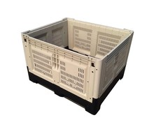 vegetables folding plastic crates logistics container plastic fruit crates