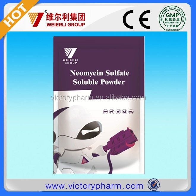 neomycin sulfate soluble powder for poultry, poultry medicine