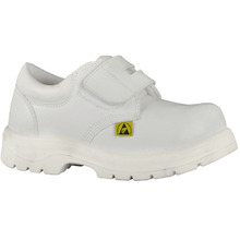 White Food Factory Anti-slip Safety Shoes