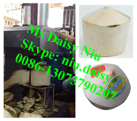best selling high quality green coconut trimming machine/coconut peeling machine/coconut peeler